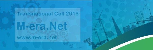M-ERA.NET 2013 Çağrı Duyurusu