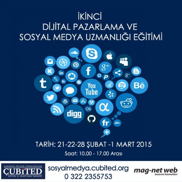 Adana Dijital Pazarlama Ve Sosyal Medya Eğitiminde İkinci Dönem Başlıyor