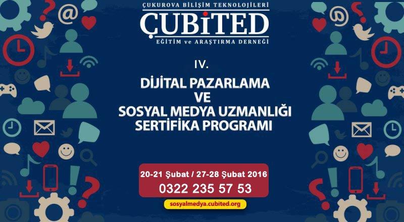 Adana Dijital Pazarlama Ve Sosyal Medya Eğitiminde Üçüncü Dönem Başlıyor (20-21 Şubat / 27-28 Şubat 2016)