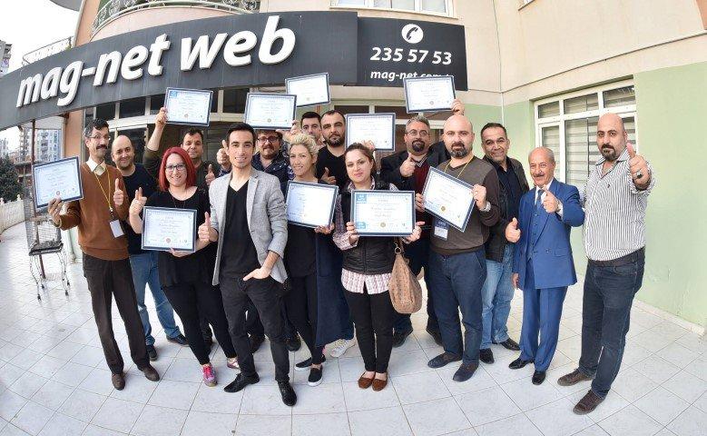 IV. Dijital Pazarlama ve Sosyal Medya Uzmanlığı Sertifika Programı Başarıyla Tamamlandı