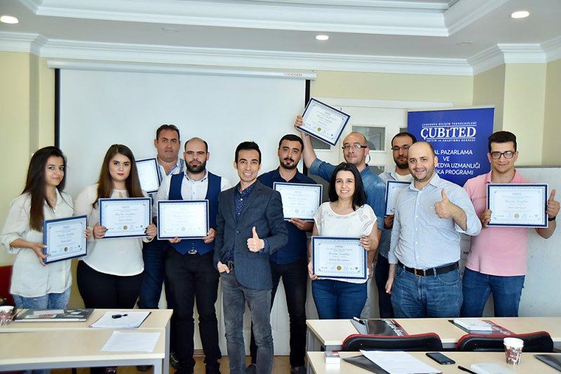 5. Dijital Pazarlama ve Sosyal Medya Uzmanlığı Sertifika Programı Başarıyla Tamamlandı