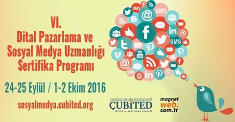 Adana Dijital Pazarlama Ve Sosyal Medya Eğitiminde Altıncı Dönem Başlıyor (24-25 Eylül / 1-2 Ekim 2016)
