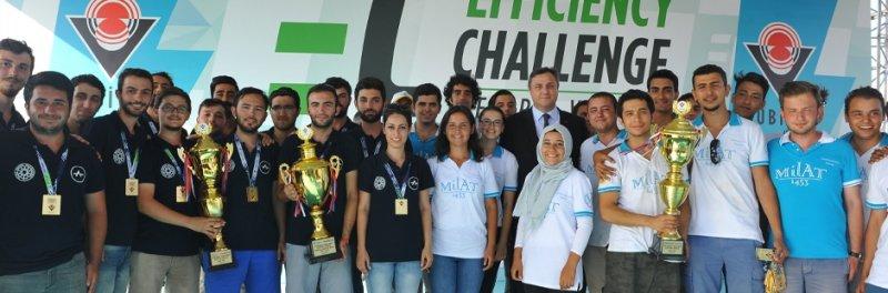 """Üniversiteli Gençlerimiz """"Efficiency Challenge Electric Vehicle""""da Yarıştı"""