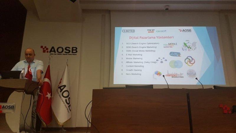 AOSB E-Ticaret Farkındalık Zirvesi